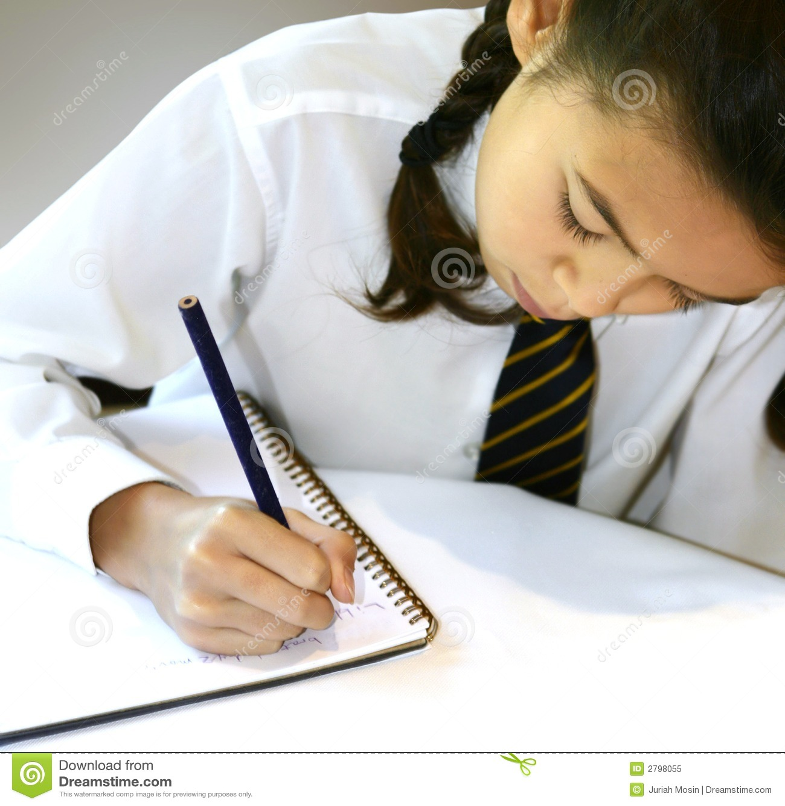 Writing homework
