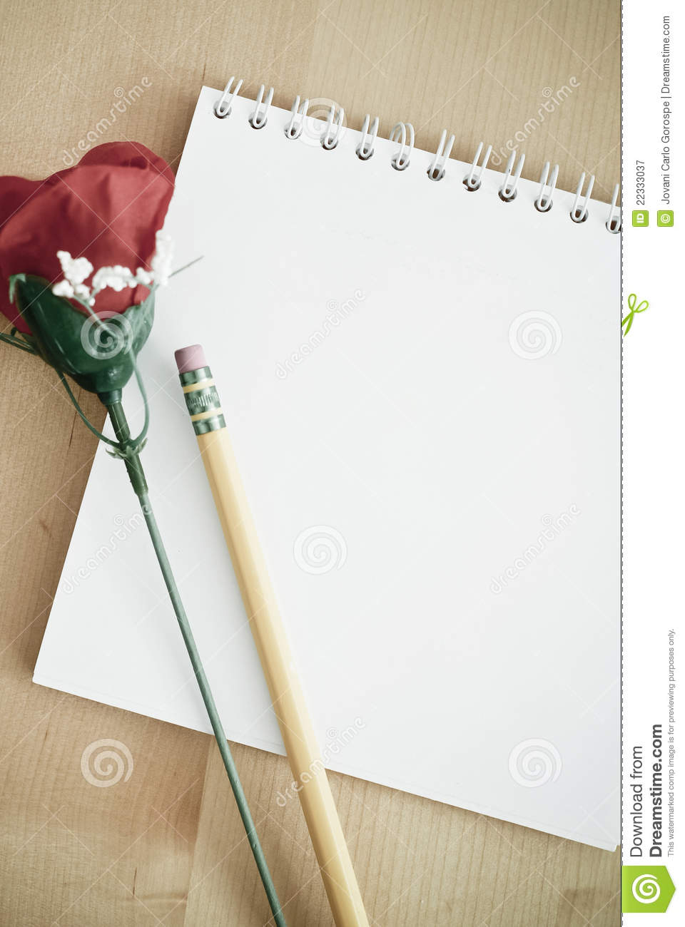 writing a love note