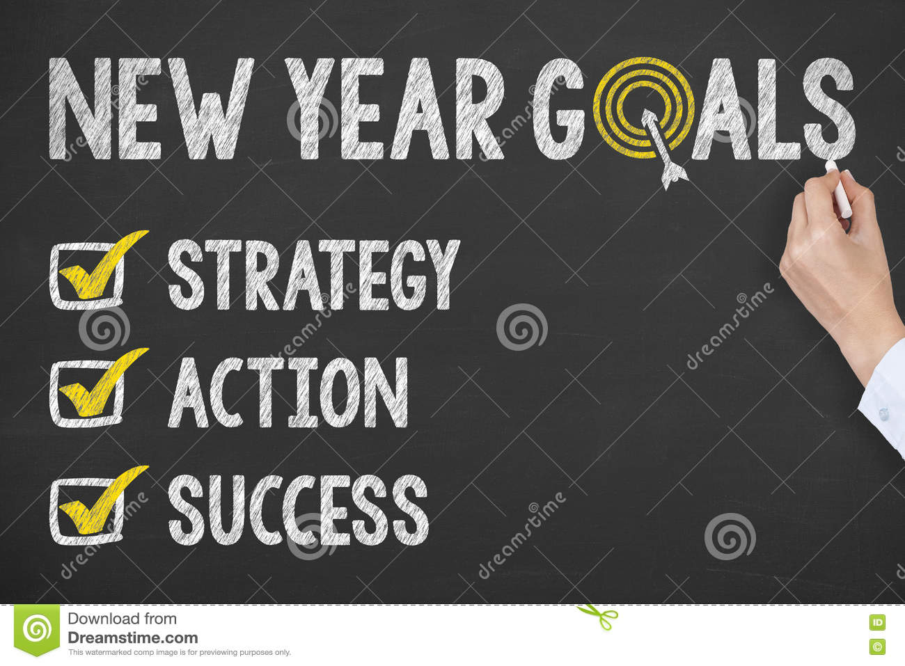 how to write goals for the new year