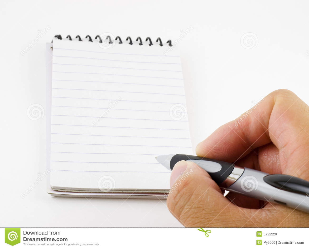 Person writing a note stock photo. Image of ruled, blank ...