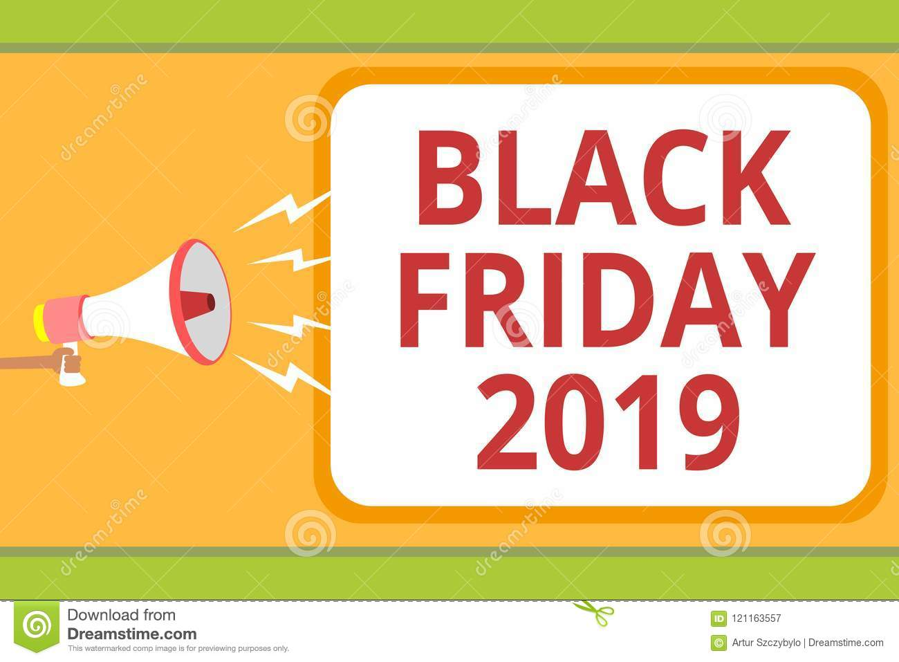 4c21a82db00 Writing note showing Black Friday 2019. Business photo showcasing day  following Thanksgiving Discounts Shopping day
