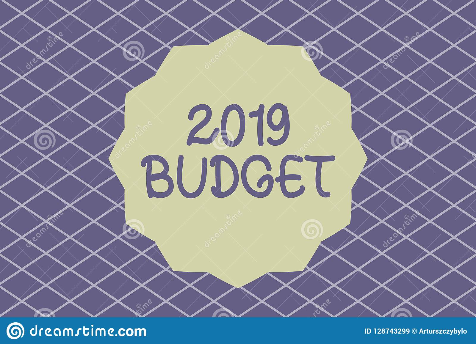 writing note showing 2019 budget business photo showcasing business