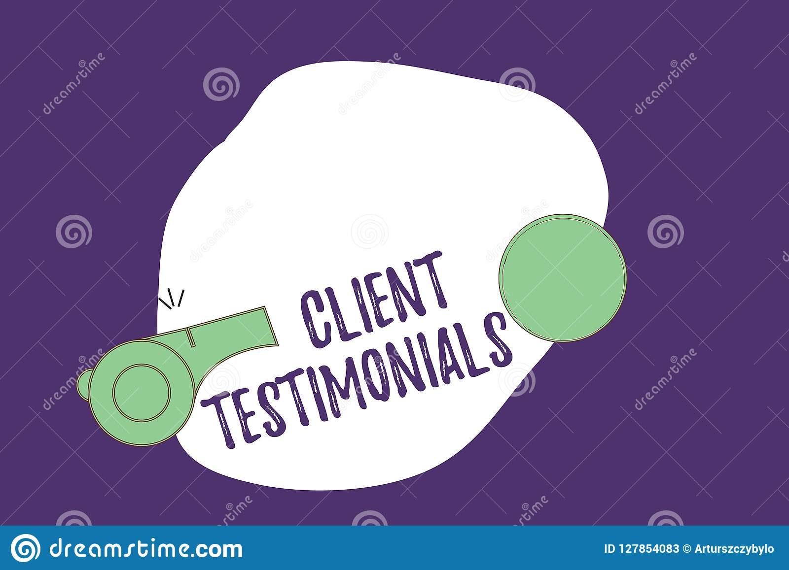 Writing note showing Client Testimonials. Business photo showcasing Written Declaration Certifying persons Character
