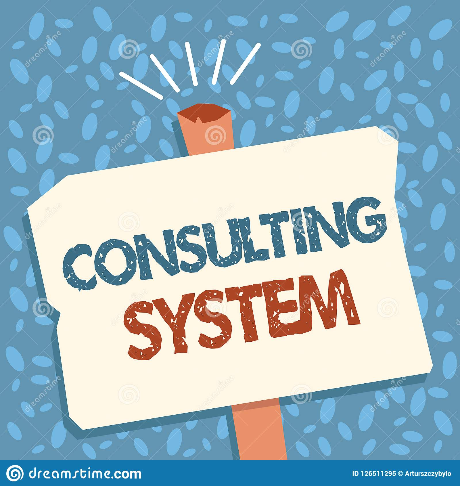 Writing Note Showing Consulting System. Business Photo