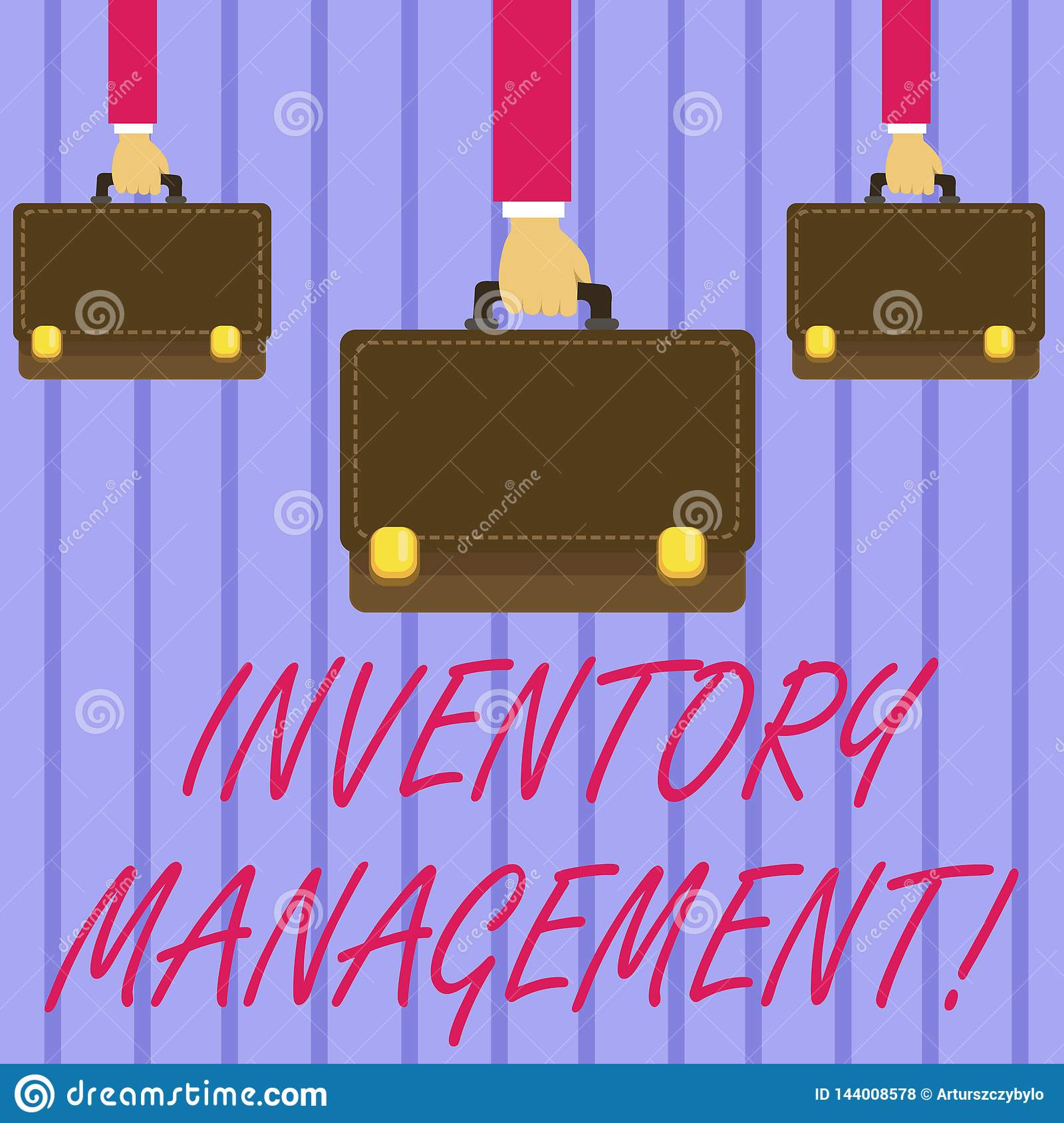 Writing Note Showing Inventory Management  Business Photo Showcasing