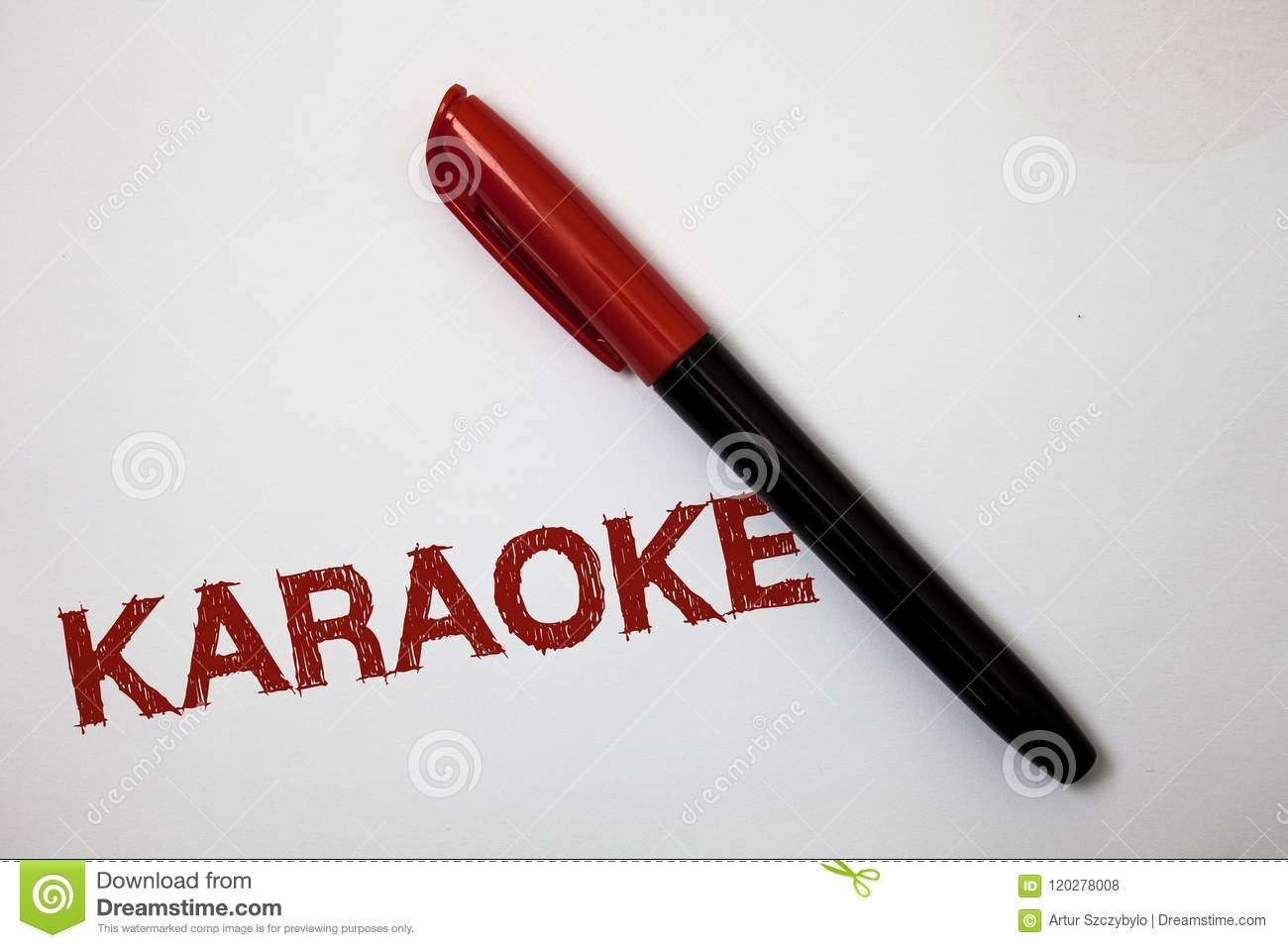 Writing Note Showing Karaoke  Business Photo Showcasing