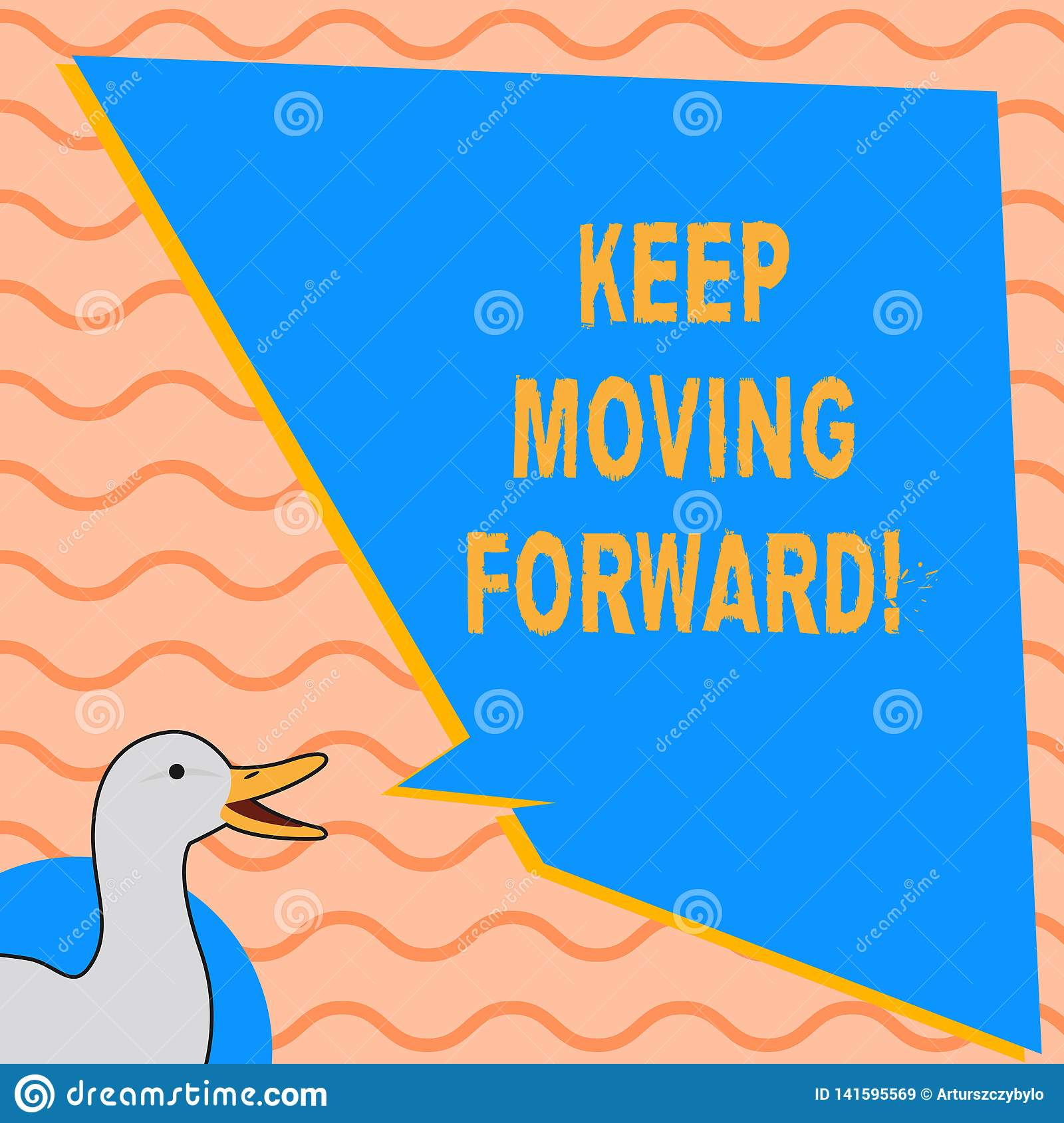 Writing note showing Keep Moving Forward. Business photo showcasing improvement Career encouraging Go ahead be better.