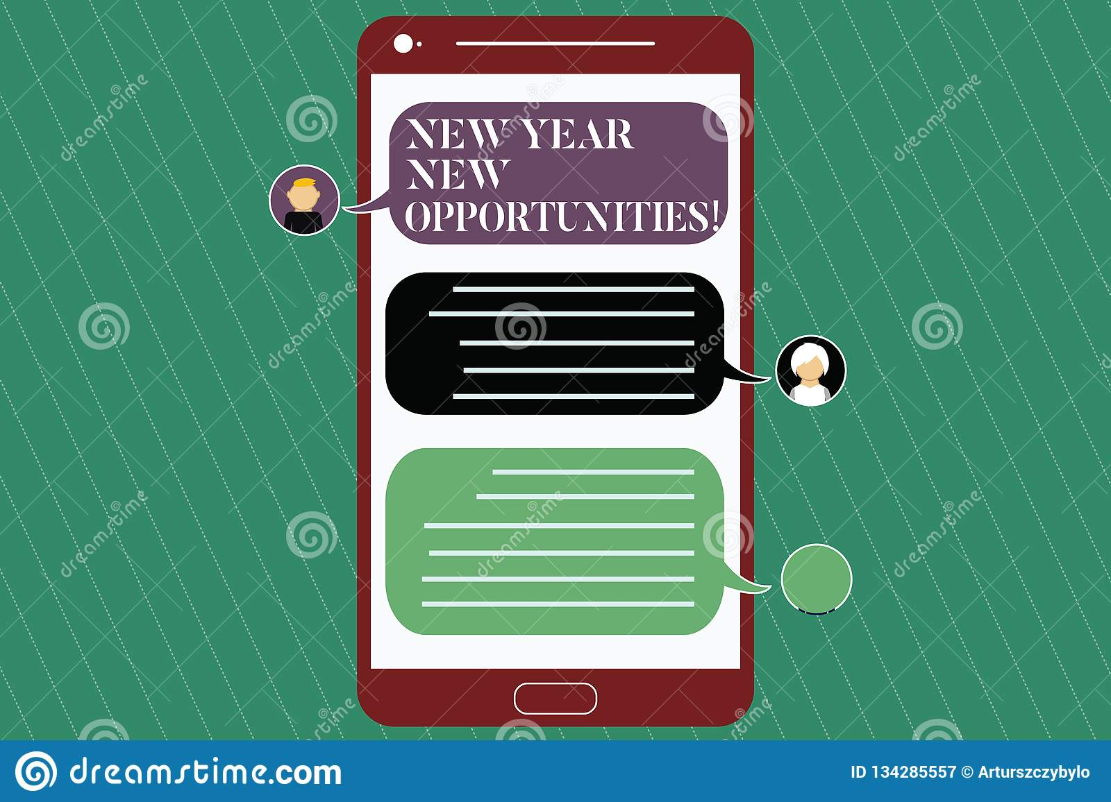 Writing note showing New Year New Opportunities. Business photo showcasing Fresh start Motivation inspiration 365 days