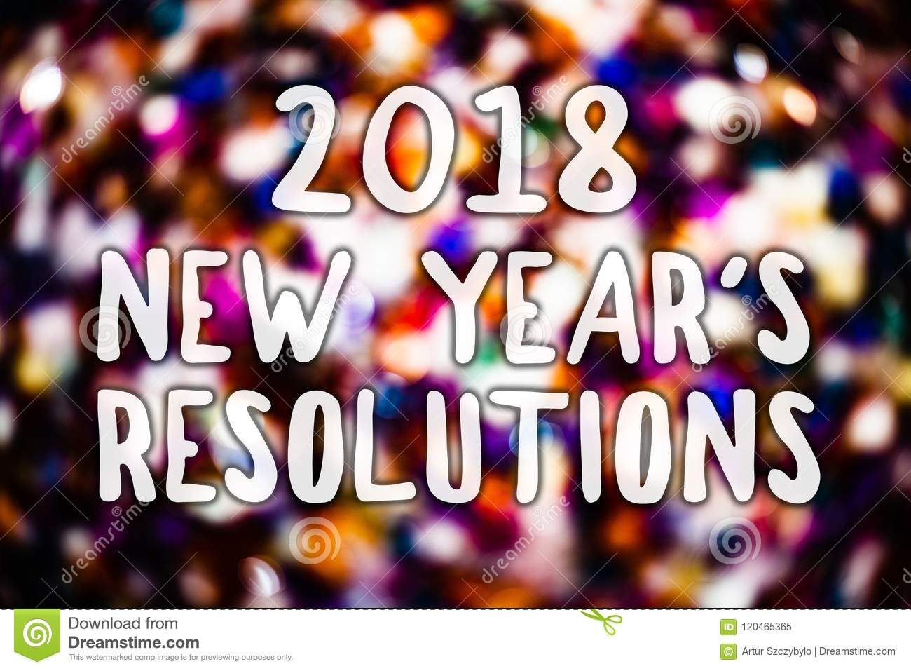 writing note showing 2018 new year s resolutions business photo showcasing list of goals or
