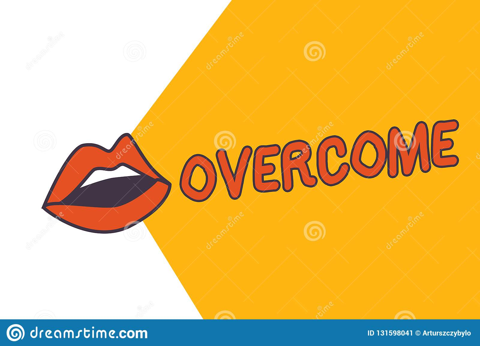 Writing note showing Overcome. Business photo showcasing succeed in dealing with problem or difficulty defeat opponent