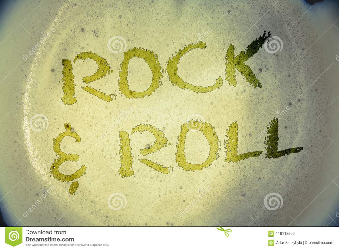 Writing Note Showing Rock And Roll Business Photos Showcasing
