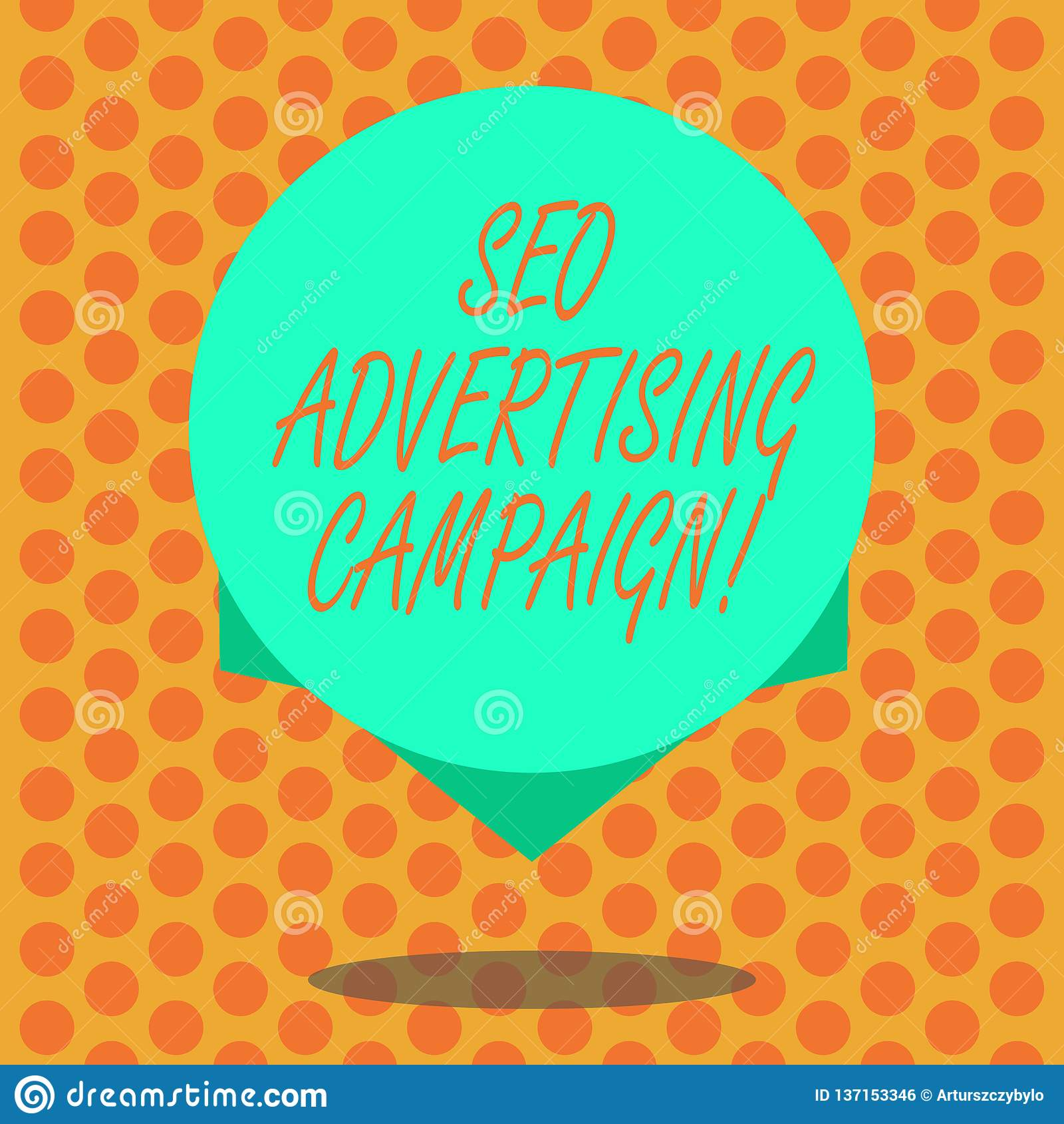 Writing note showing Seo Advertising Campaign. Business photo showcasing Promoting a site to increase the number of