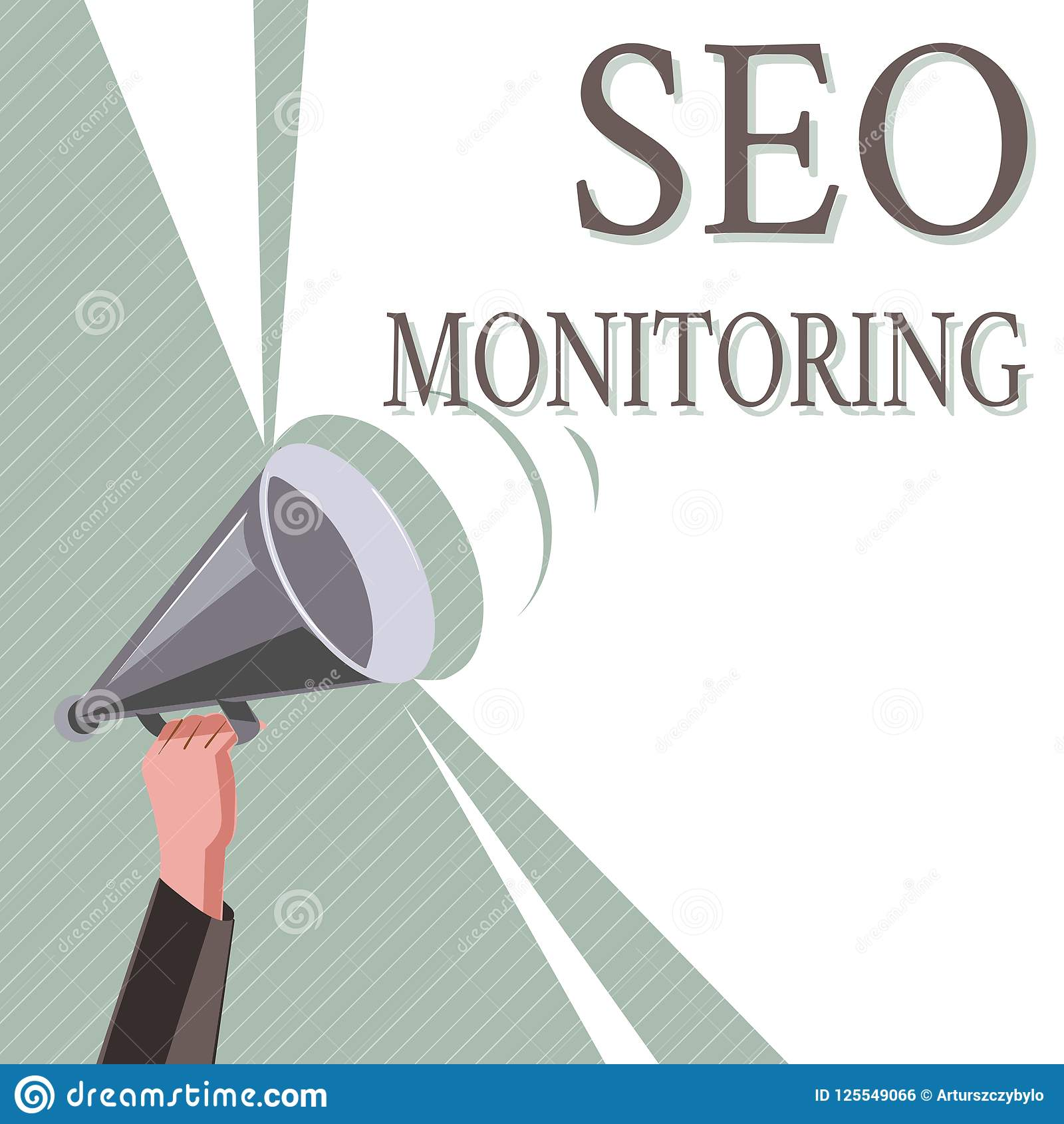 Writing note showing Seo Monitoring. Business photo showcasing Tracking the progress of strategy made in the platform