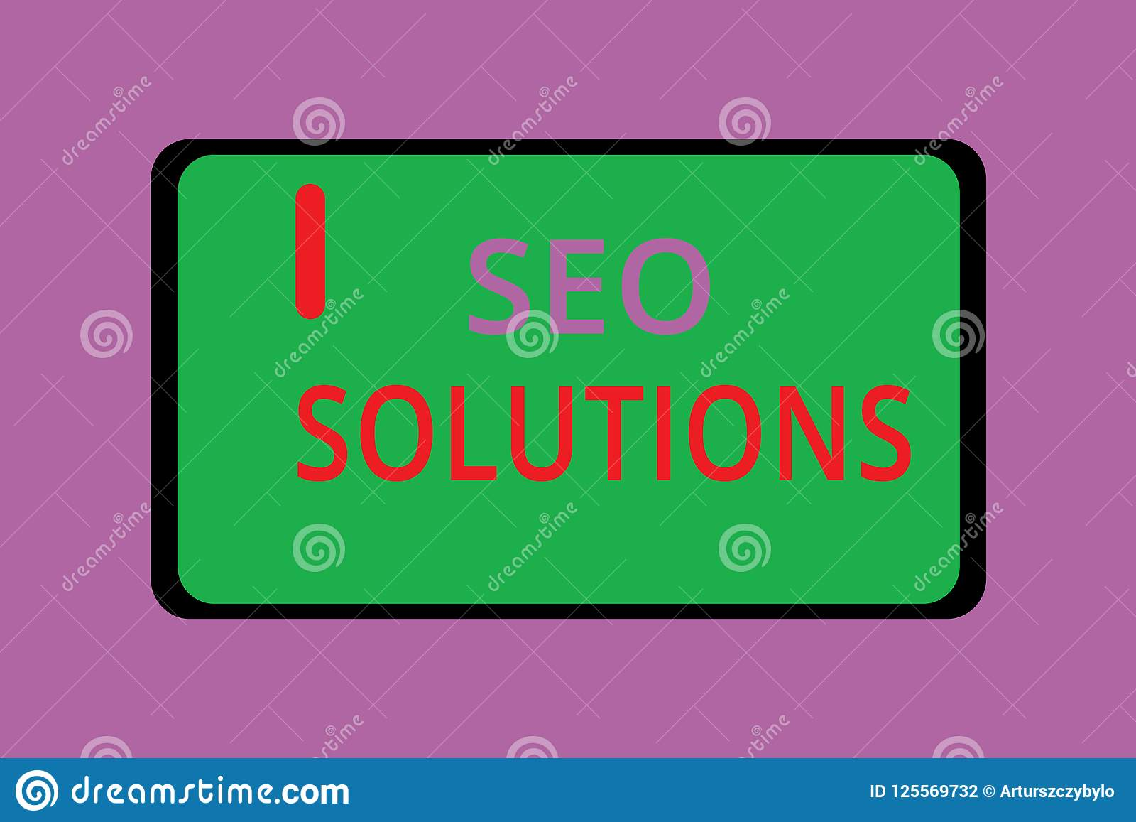 Writing note showing Seo Solutions. Business photo showcasing Search Engine Result Page Increase Visitors by Rankings