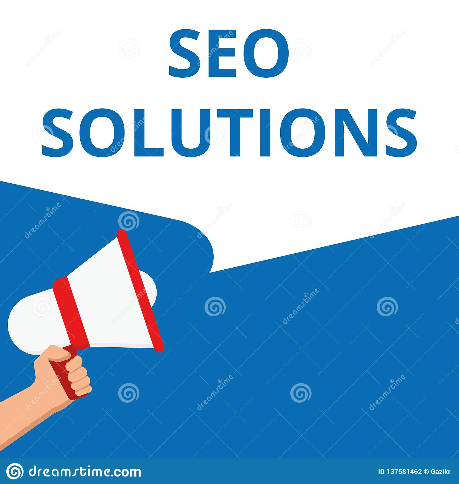 Writing note showing Seo Solutions