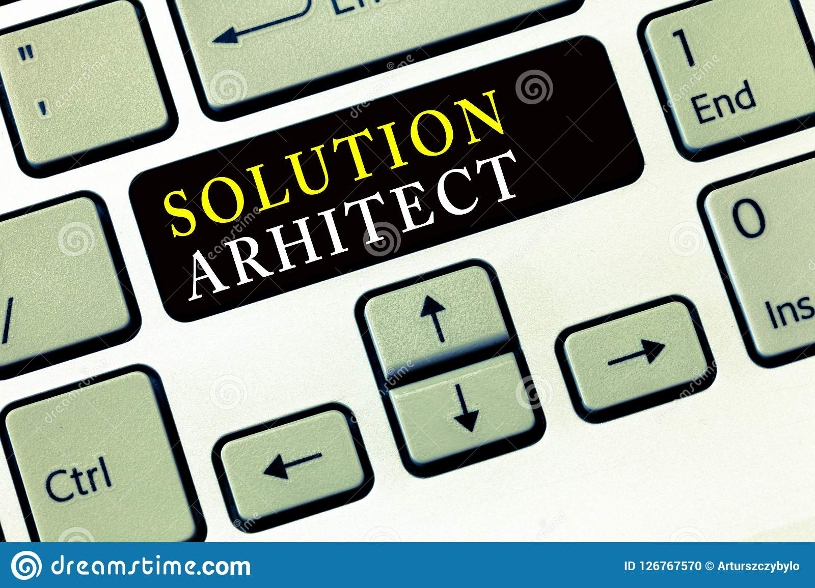 Writing Note Showing Solution Arhitect Business Photo Showcasing Design Applications Or Services Within An Organization Stock Photo Image Of Architectural Advertising 126767570