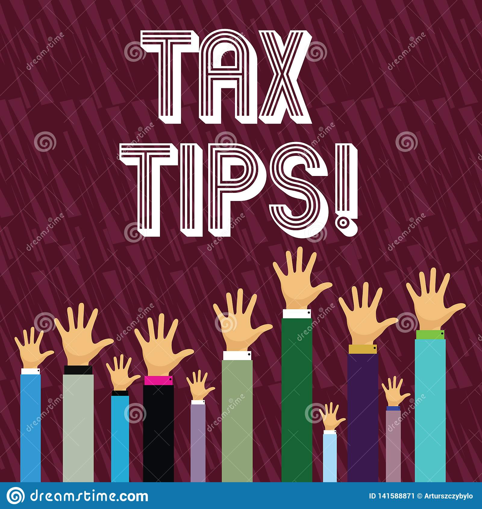 Writing Note Showing Tax Tips. Business Photo Showcasing Help Ideas For Taxation