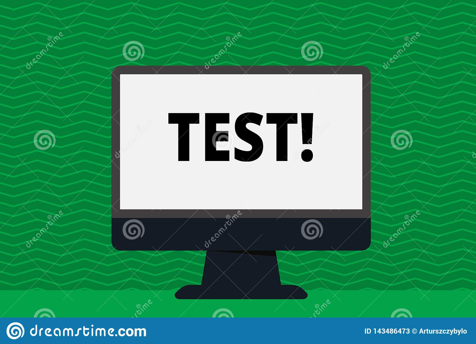 Writing note showing Test. Business photo showcasing Academic systemic procedure assess reliability durability