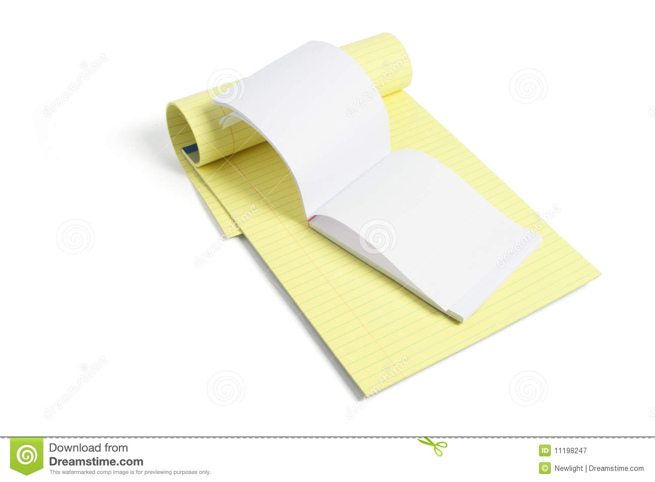 how to make background of a an writing pad white