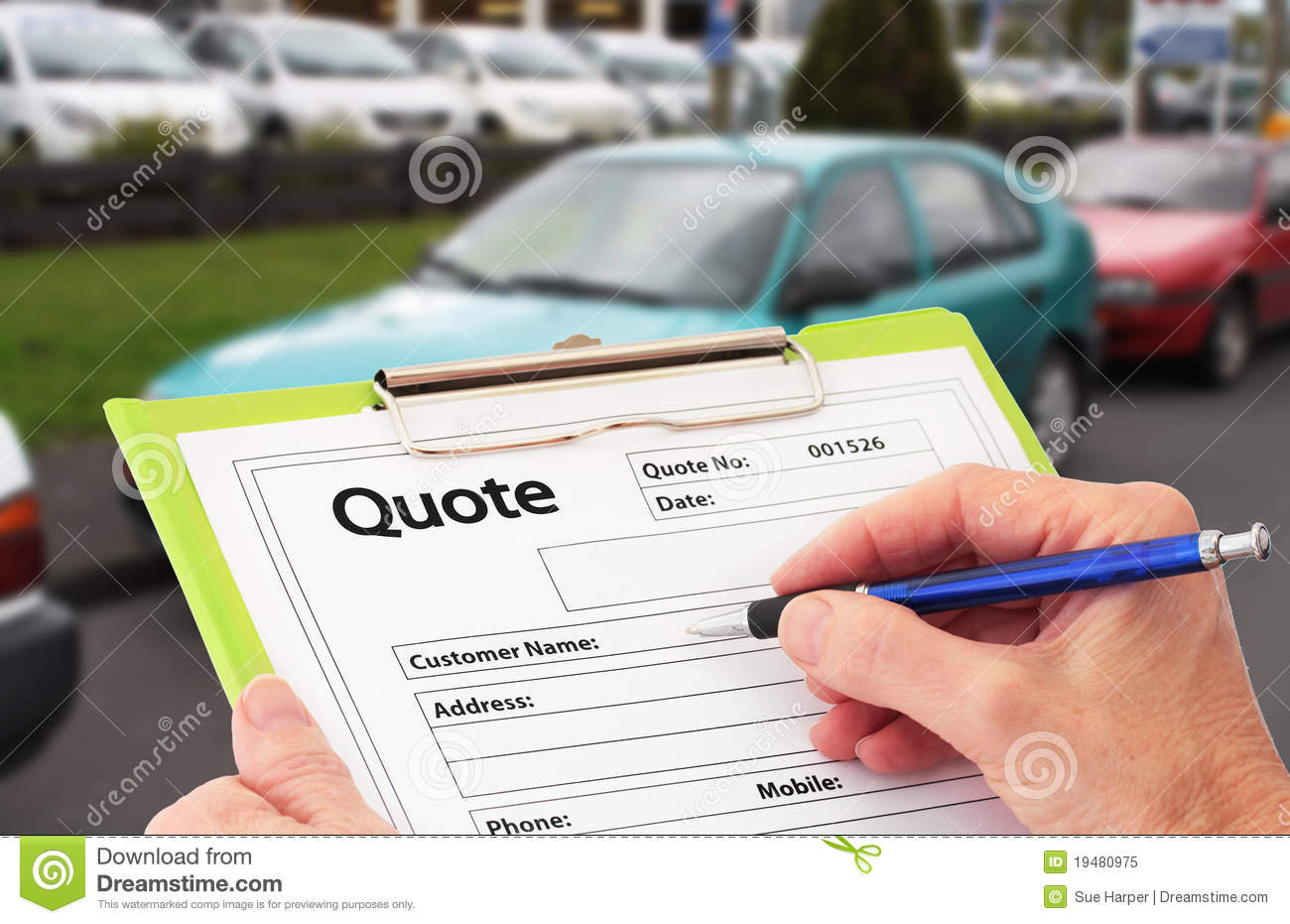 Writing A Quote For Car Repair Royalty Free Photo Image – Repair Quote
