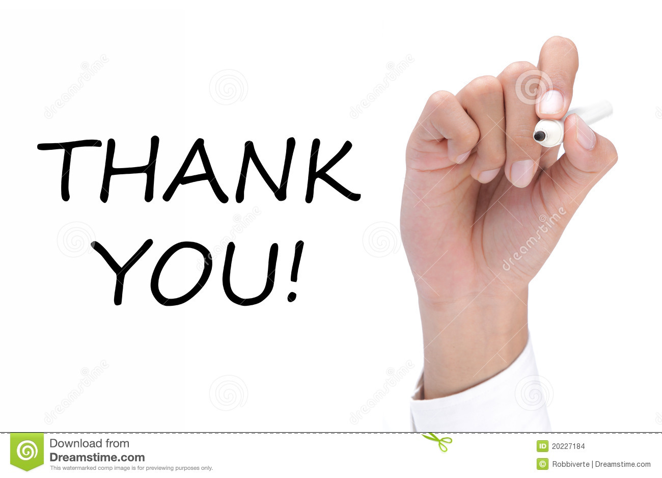 Writing thank you stock images image 20227184 Thank you in calligraphy writing