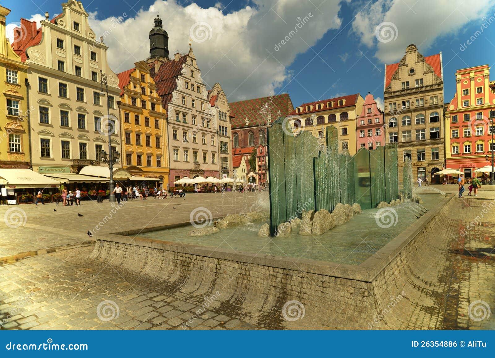 Wroclaw - Glasbrunnen