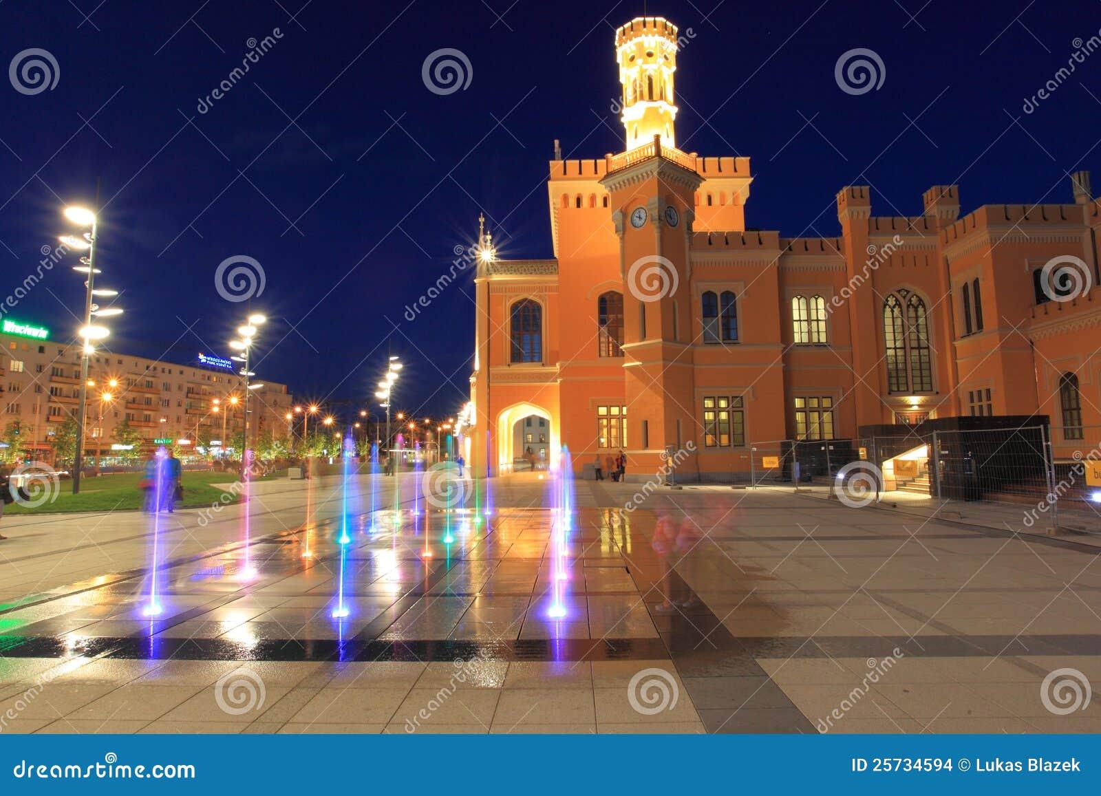 Wroclaw la nuit