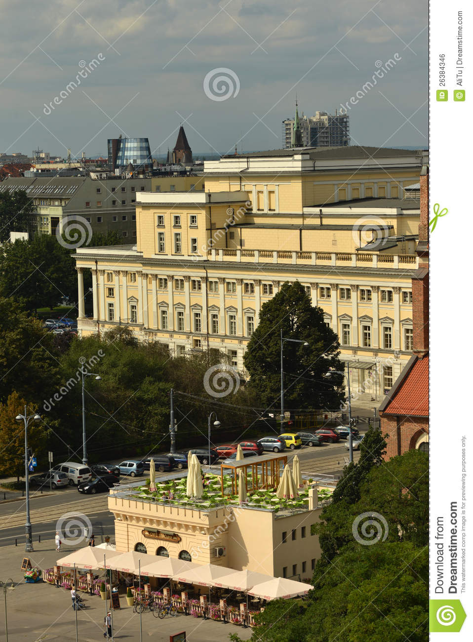 Wroclaw Opera House Editorial Photo Image 26384346