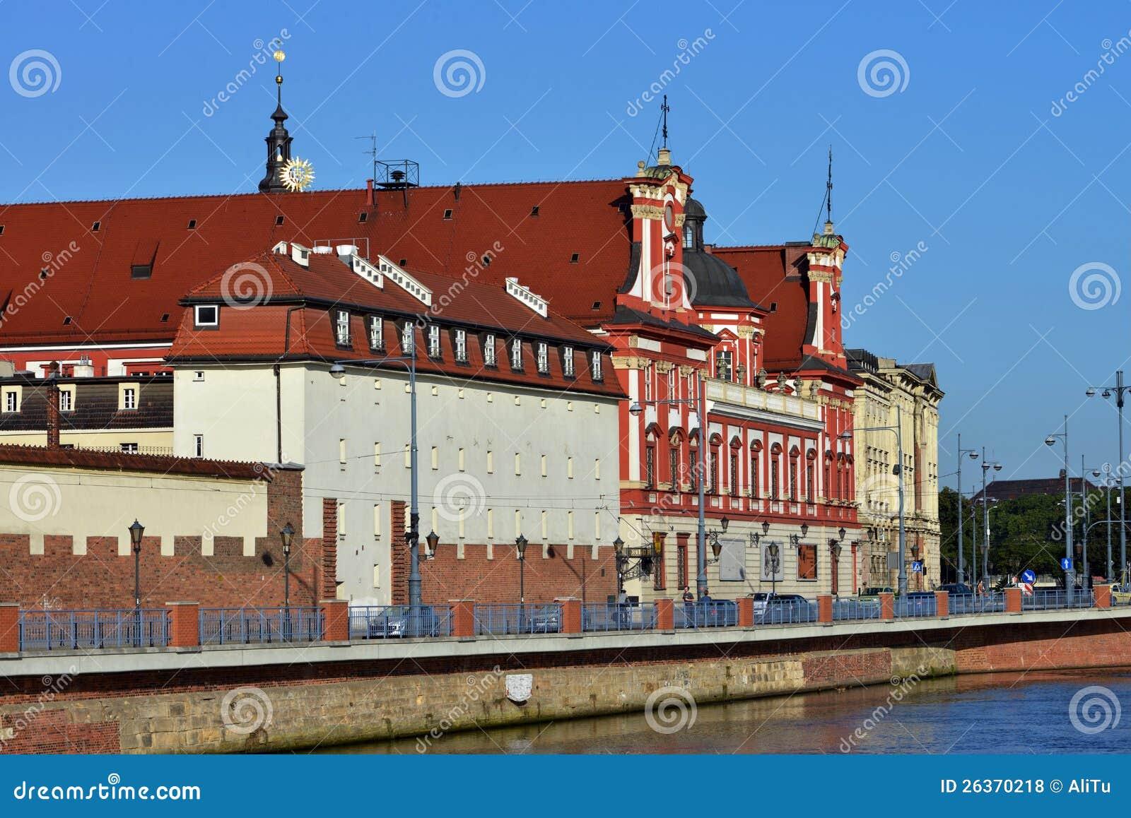 Wroclaw - Ossolineum Bibliothek