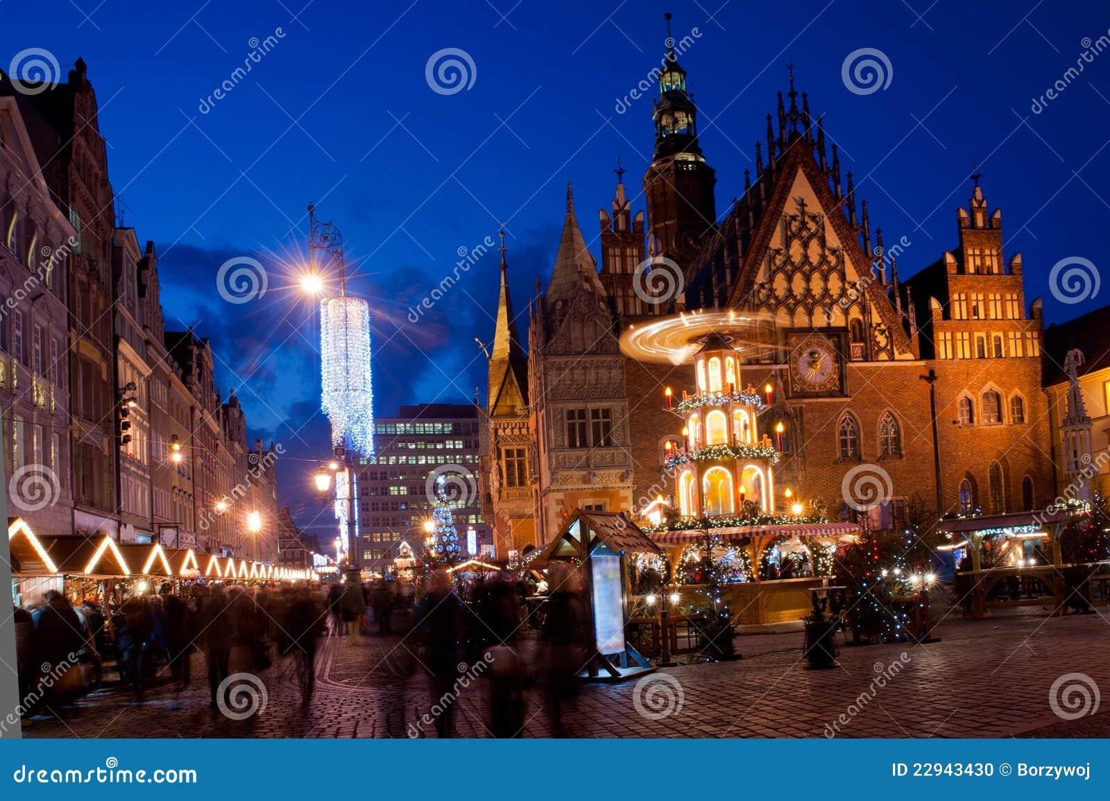Wroclaw par nuit