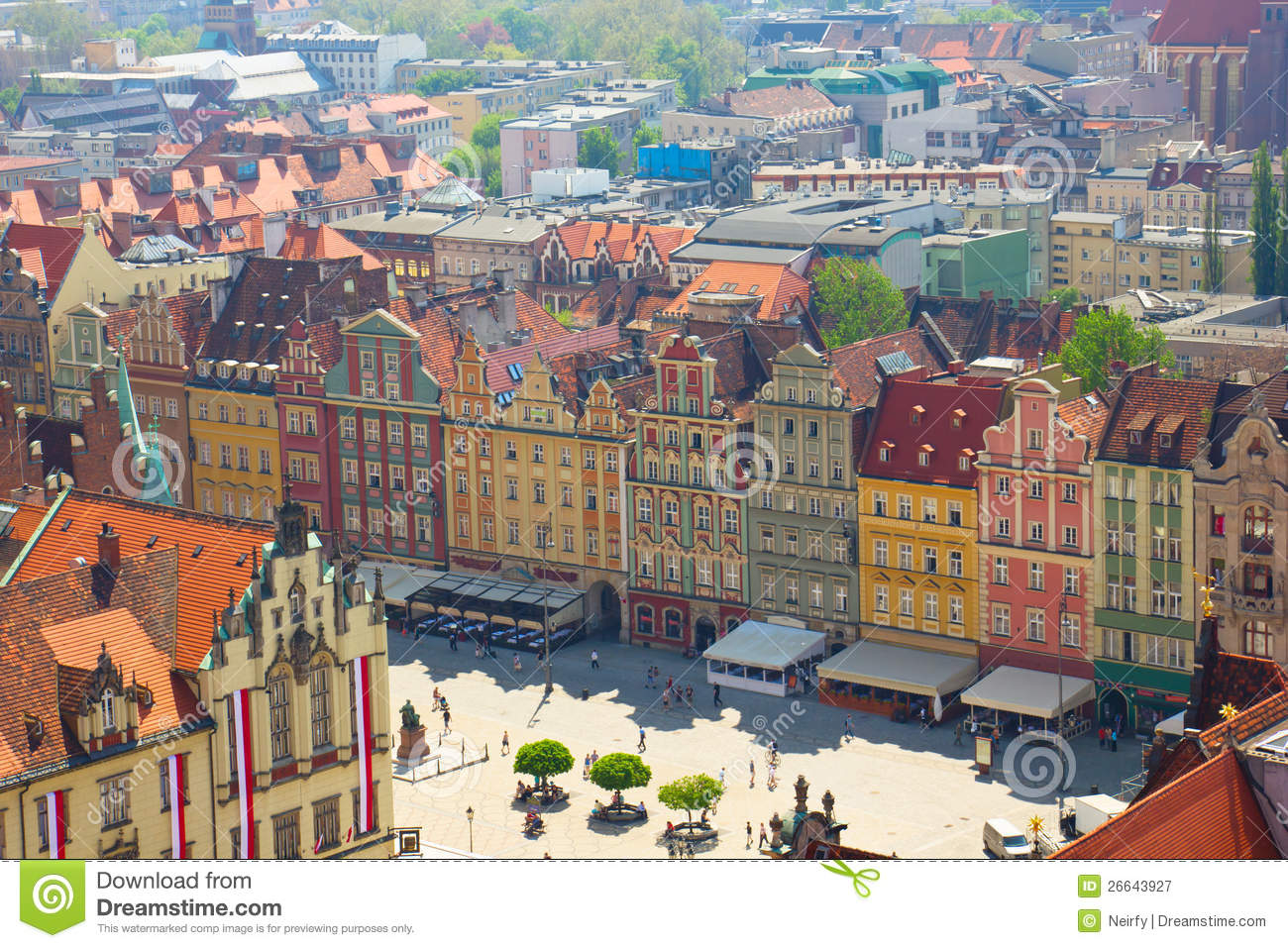 Wroclaw poland royalty free stock photography image 26643927