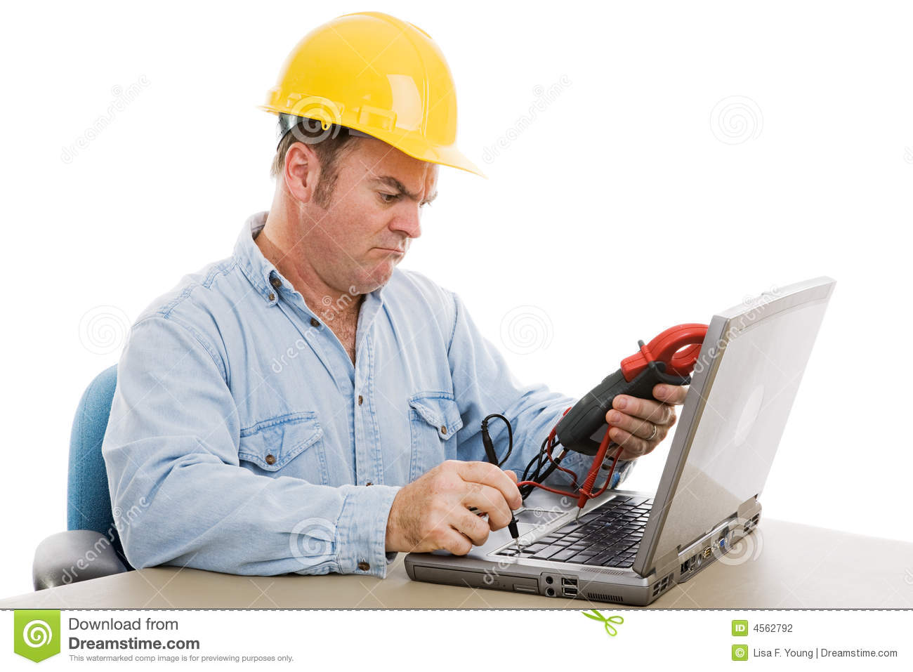 Wrong tool stock photo. Image of confusion, confused ...
