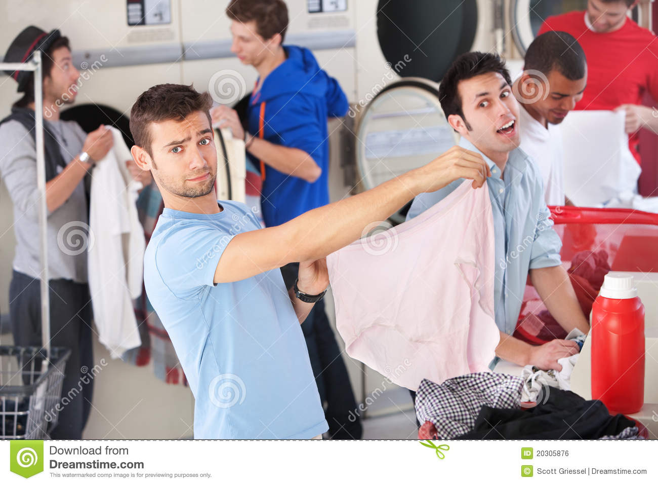 Wrong Underwear In Laundromat