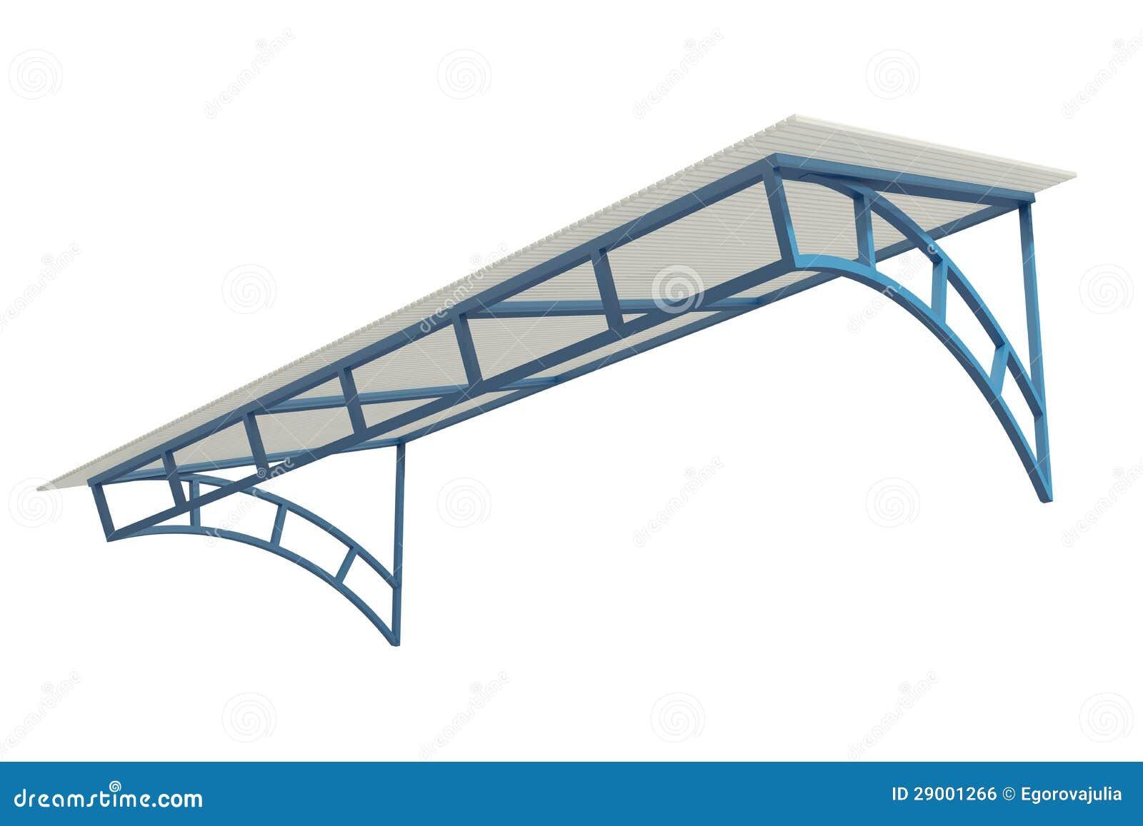 Wrought Iron Canopy Royalty Free Stock Image Image 29001266