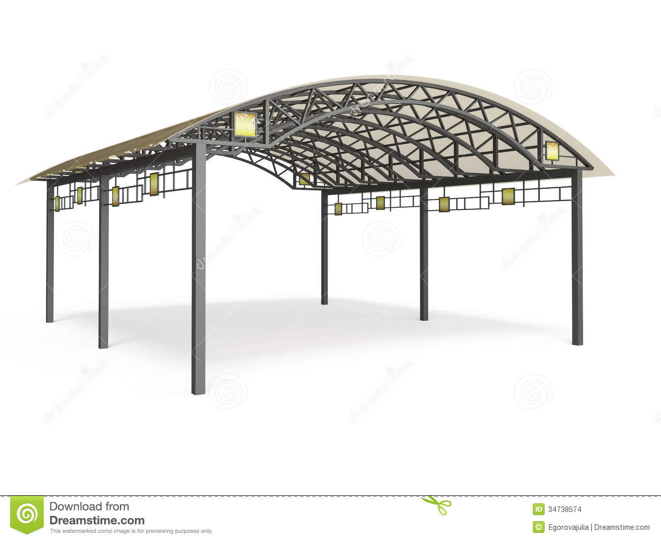 Canopy With Awning