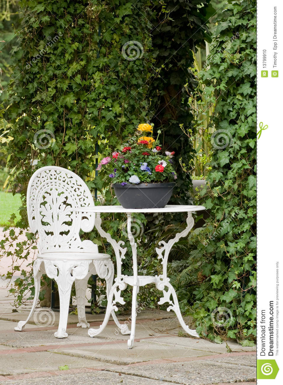 Iron Garden Table And Chairs Part - 42: Chair Garden Iron Table ...