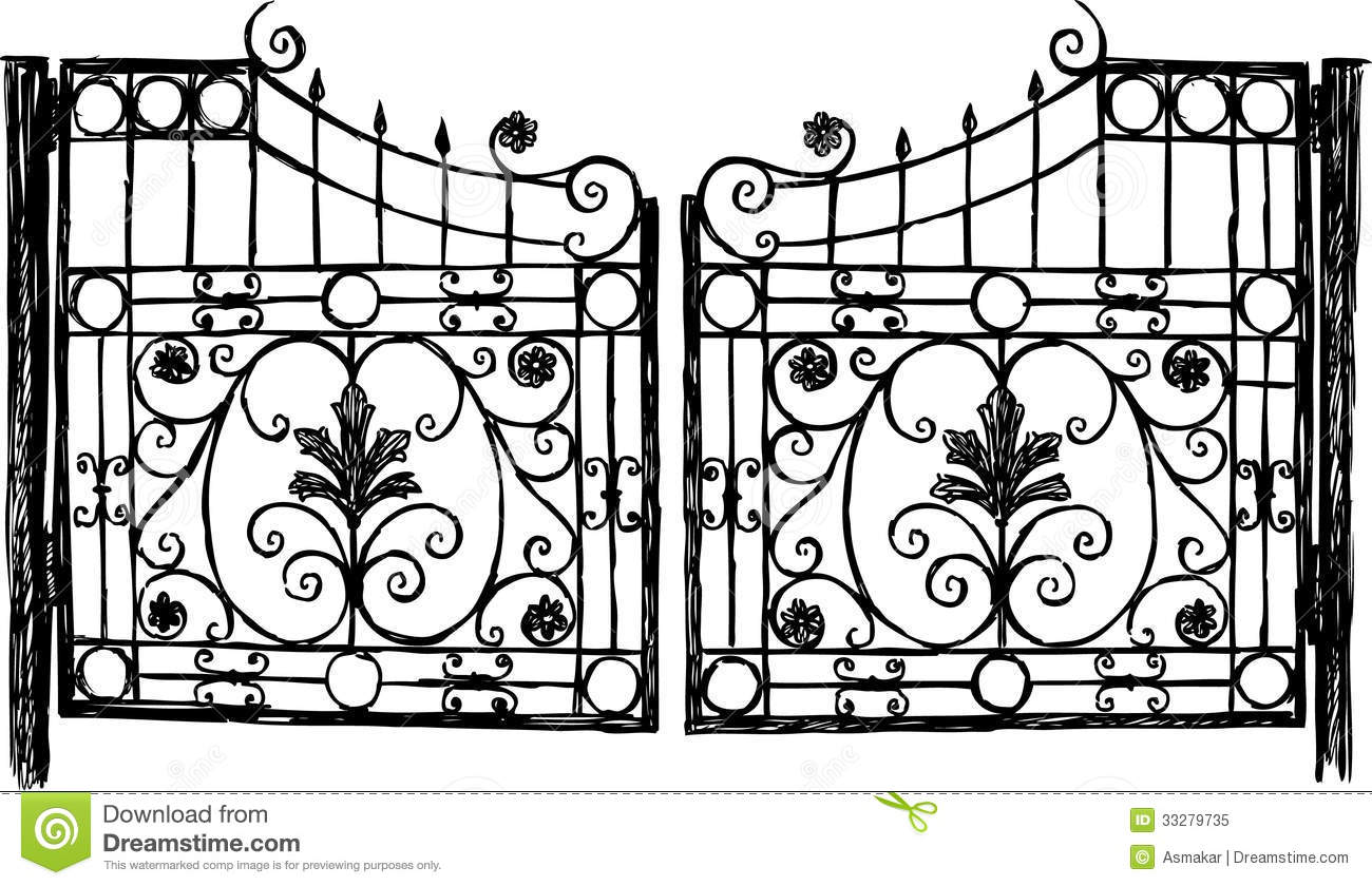 Metal garden gate clip art hot girls wallpaper