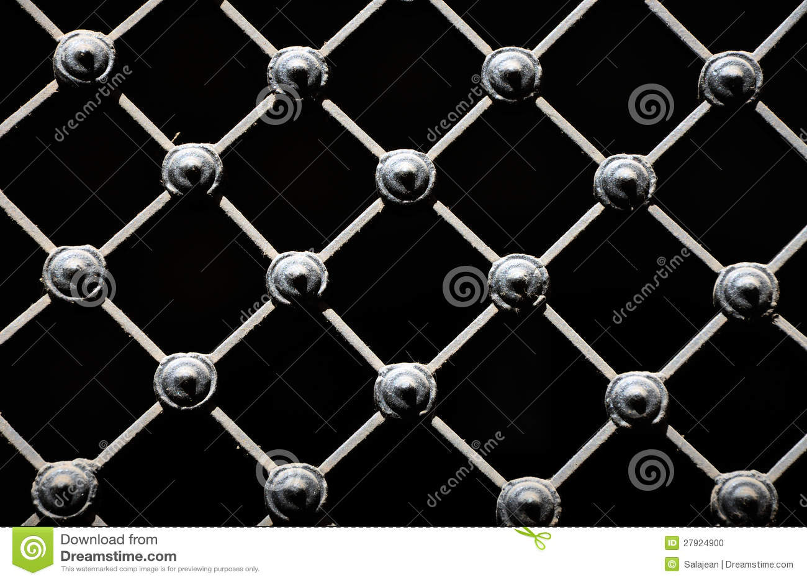 Wrought Iron Lattice Stock Photo Image 27924900