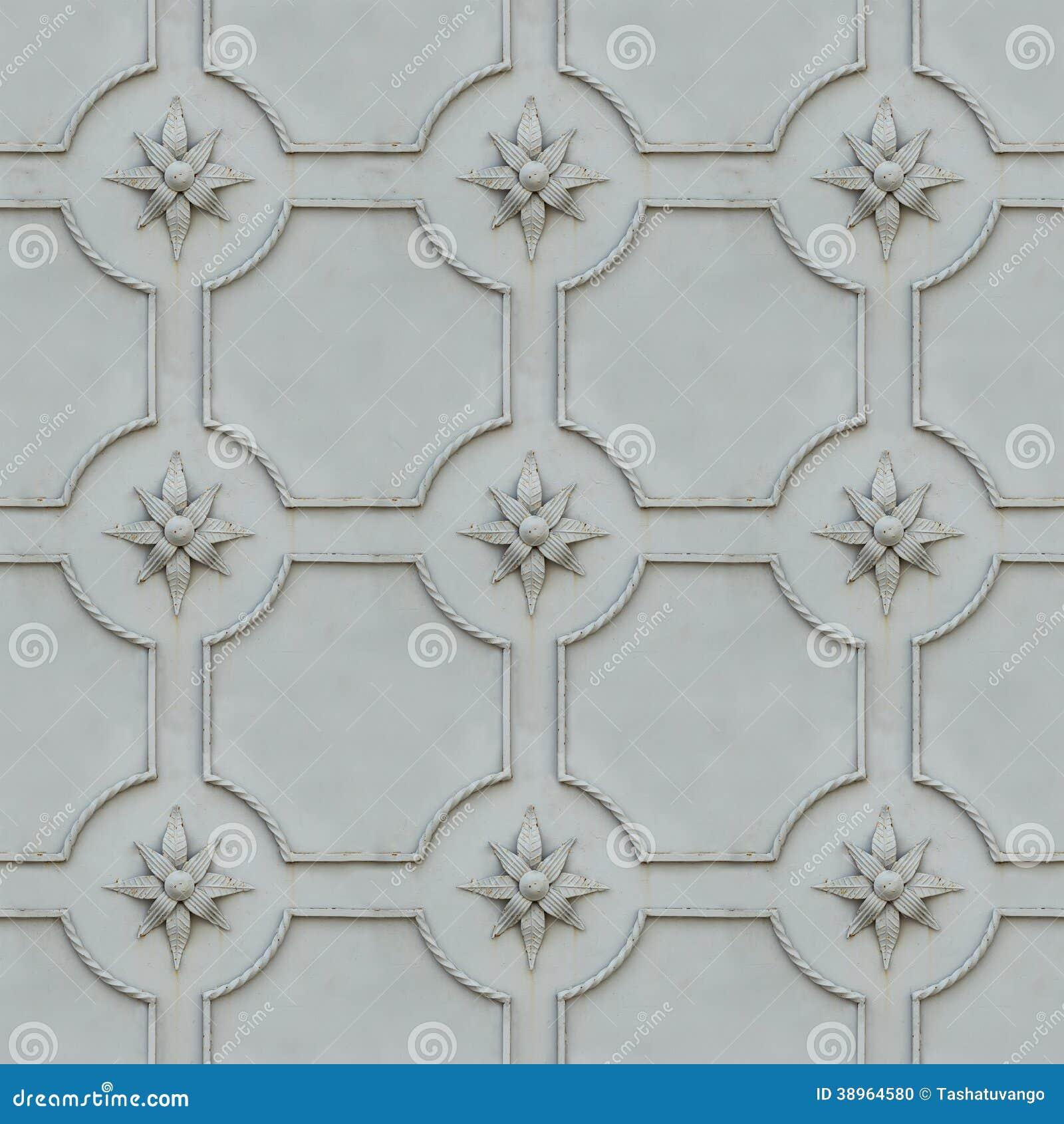 Wrought Iron Surface. Seamless Texture. Stock Photo ...  Wrought Iron Su...