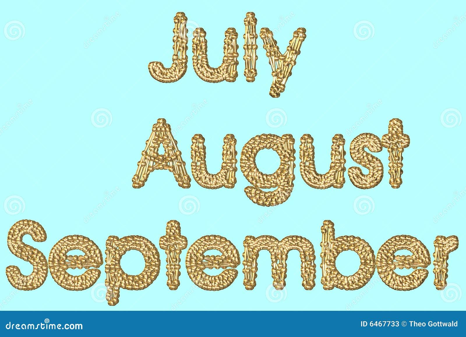 Wrzesień august.