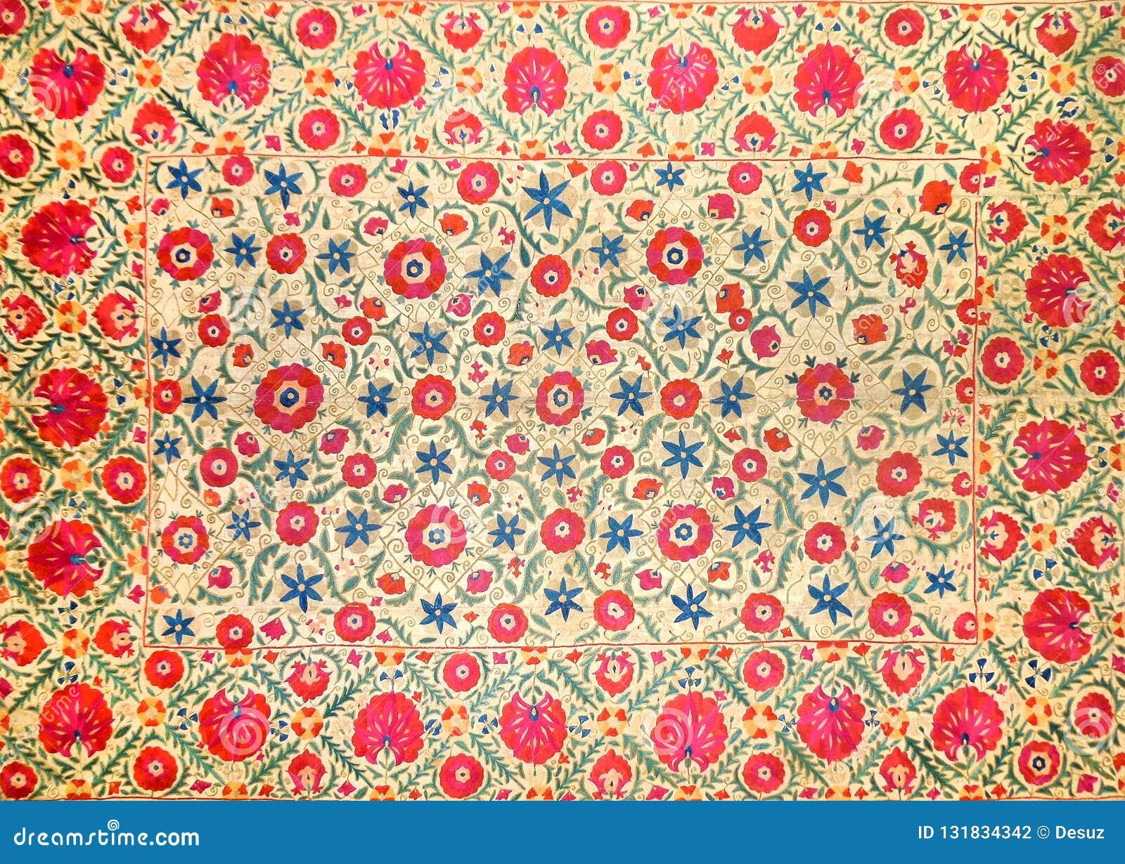 Wschodni arabski dekoracyjny broderia wzór