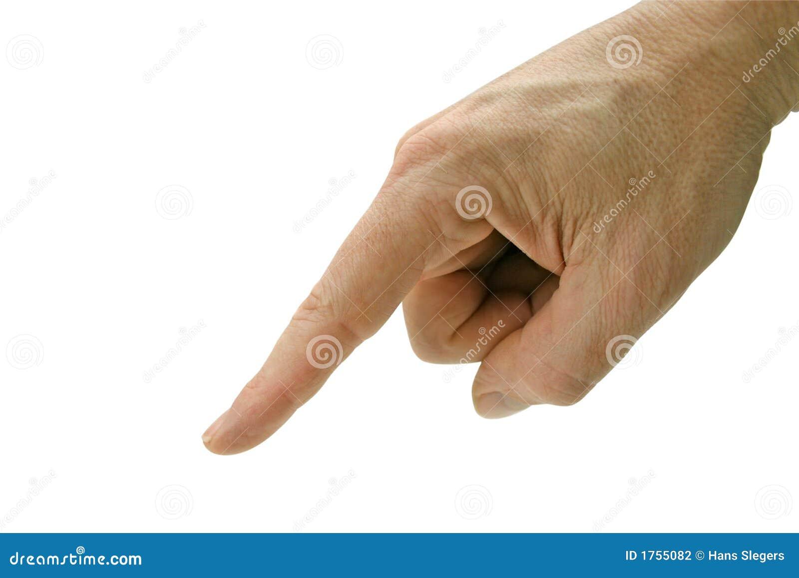 Wskazać palec