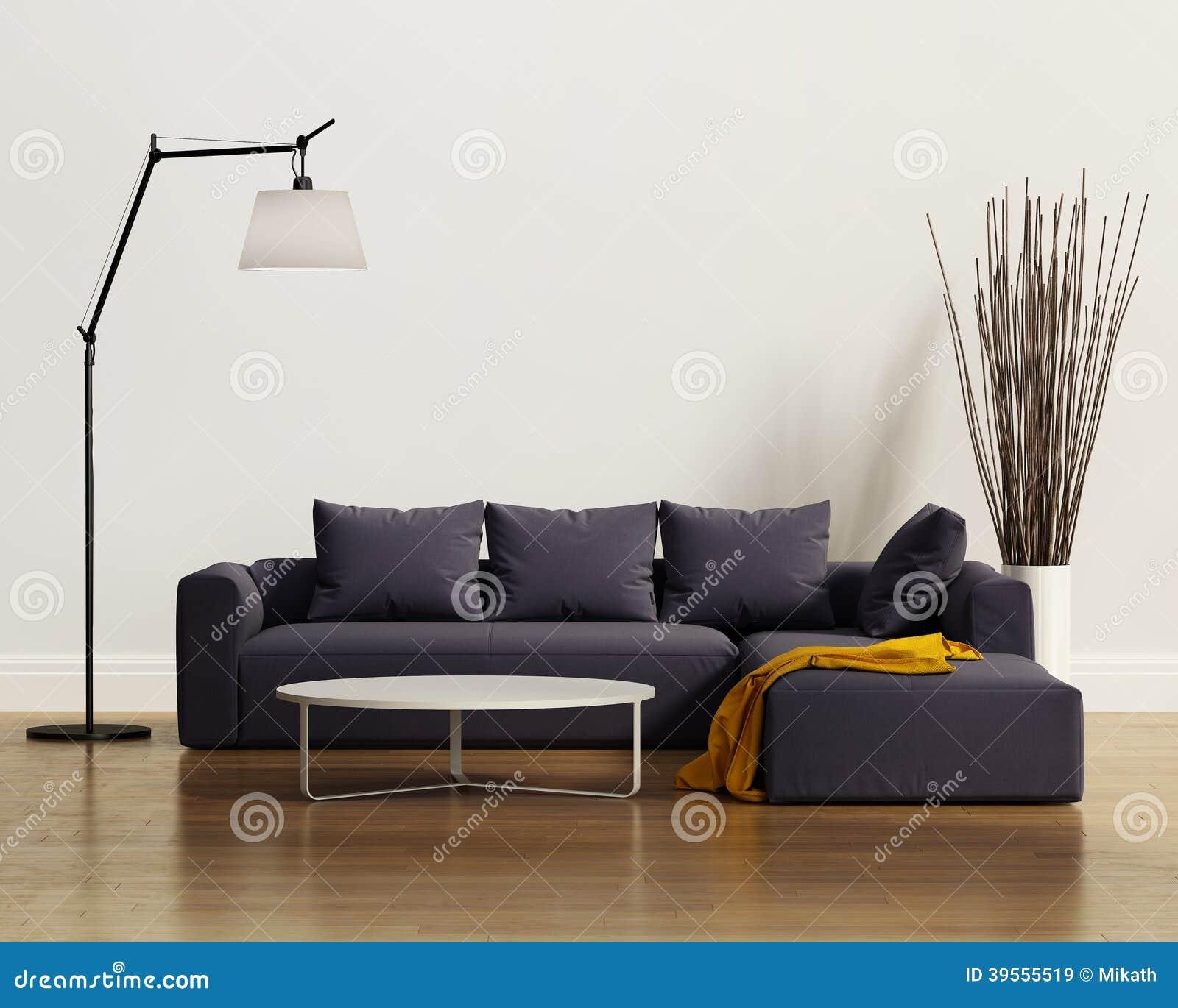 Współczesna elegancka luksusowa purpurowa kanapa z poduszkami