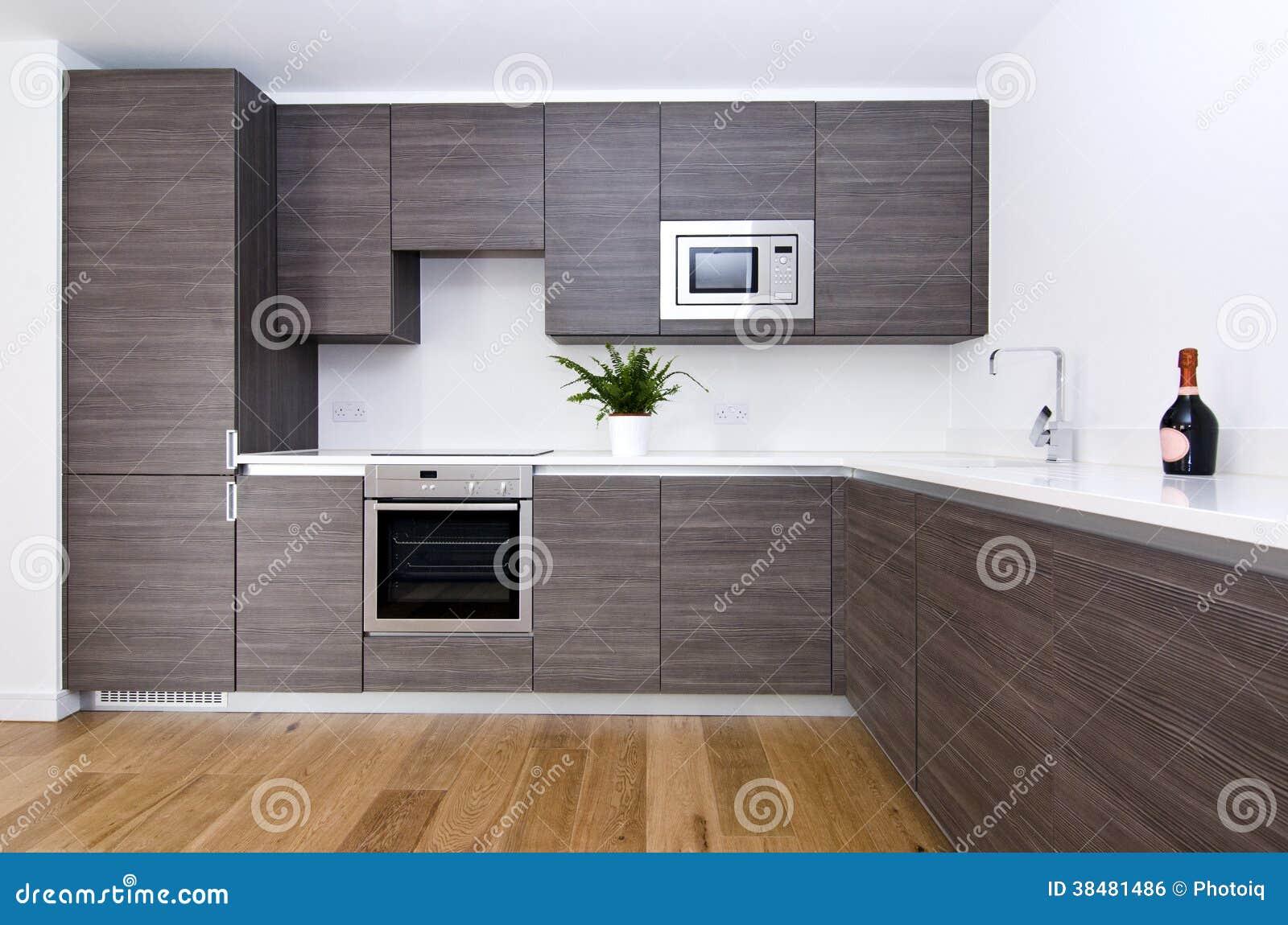Współczesna Kuchnia Z Odgórnymi Spec Urządzeniami Zdjęcie