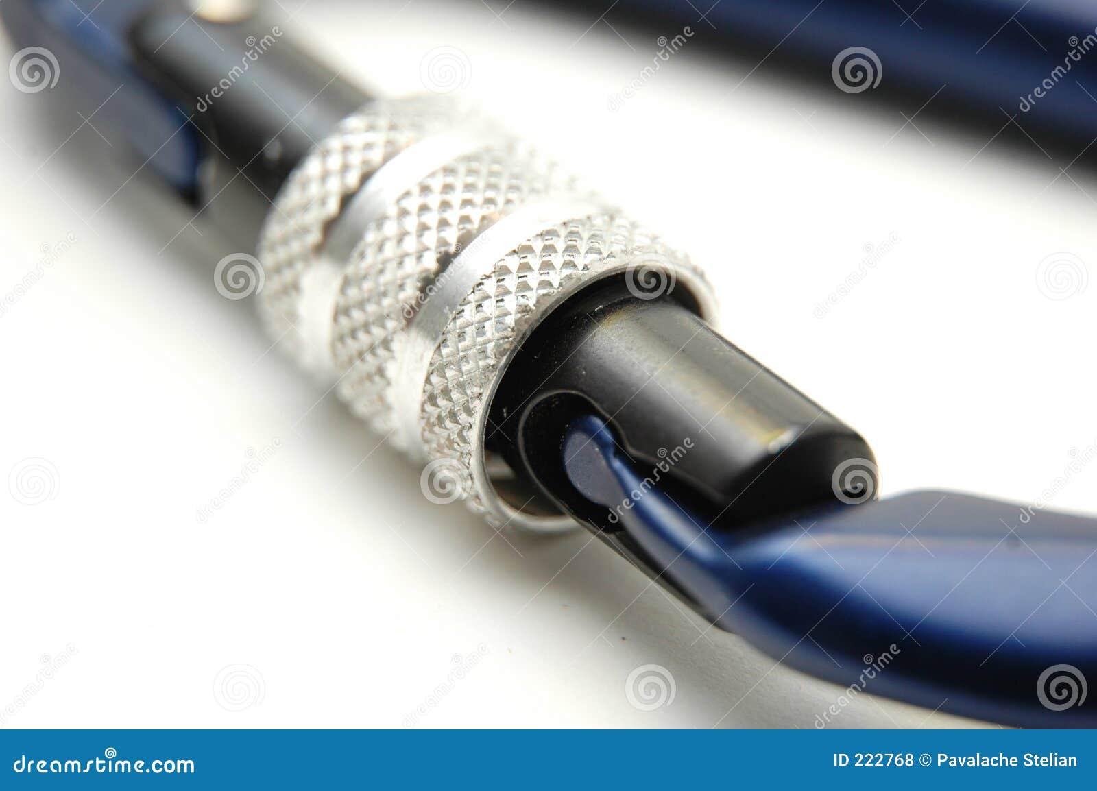 Wspina się carabiners sprzętu systemu zamka