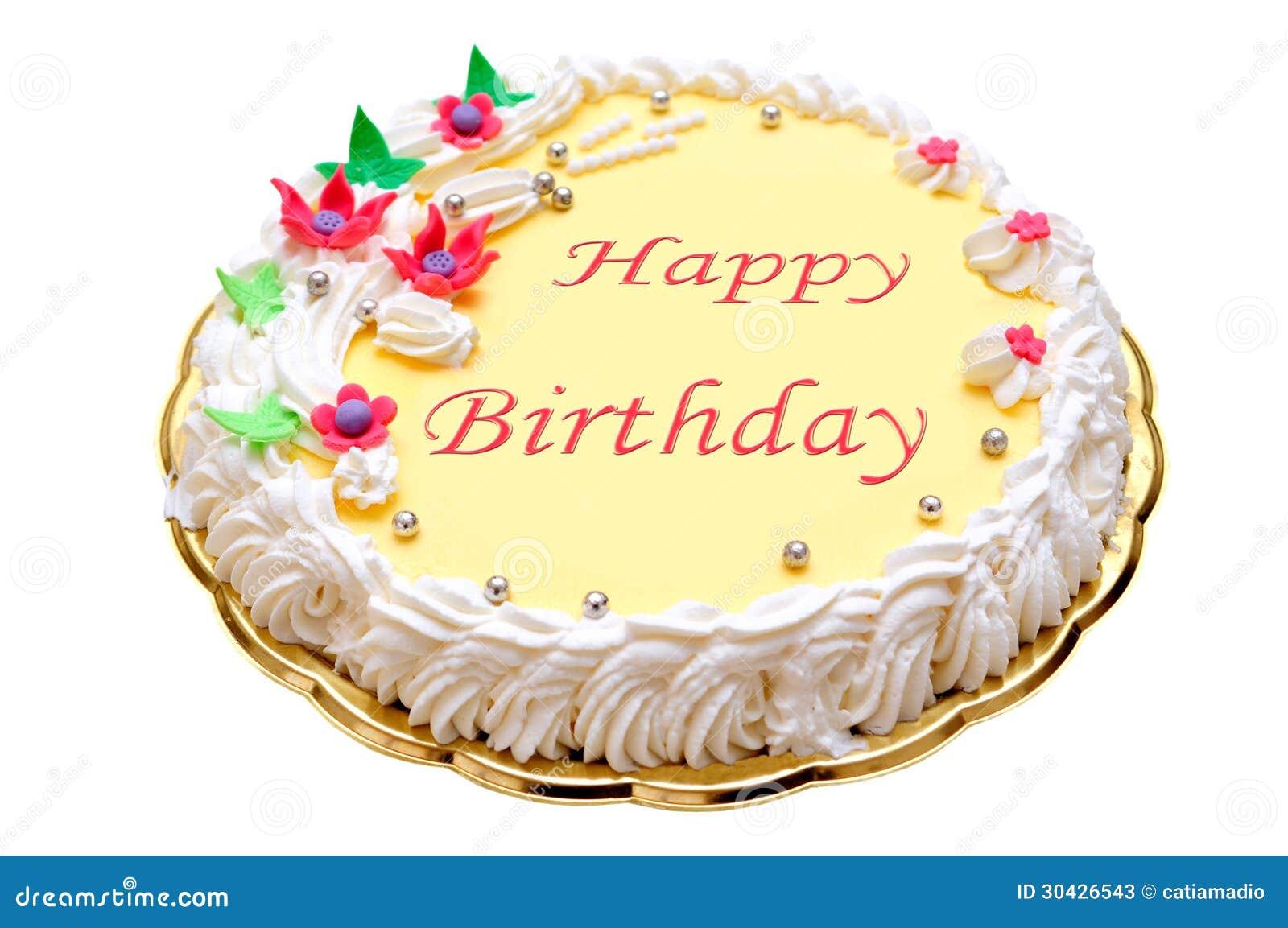 Wszystkiego Najlepszego Z Okazji Urodzin tort