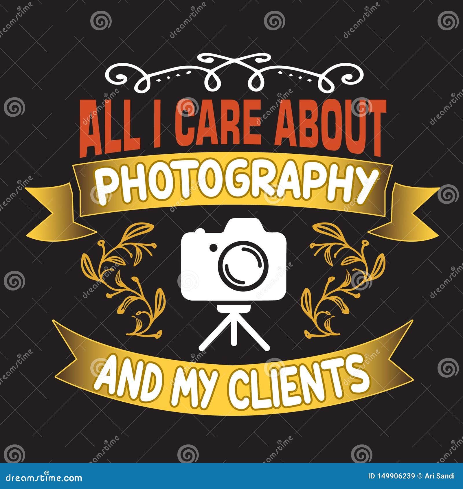 Wszystko dbam o fotografii i mój klientach