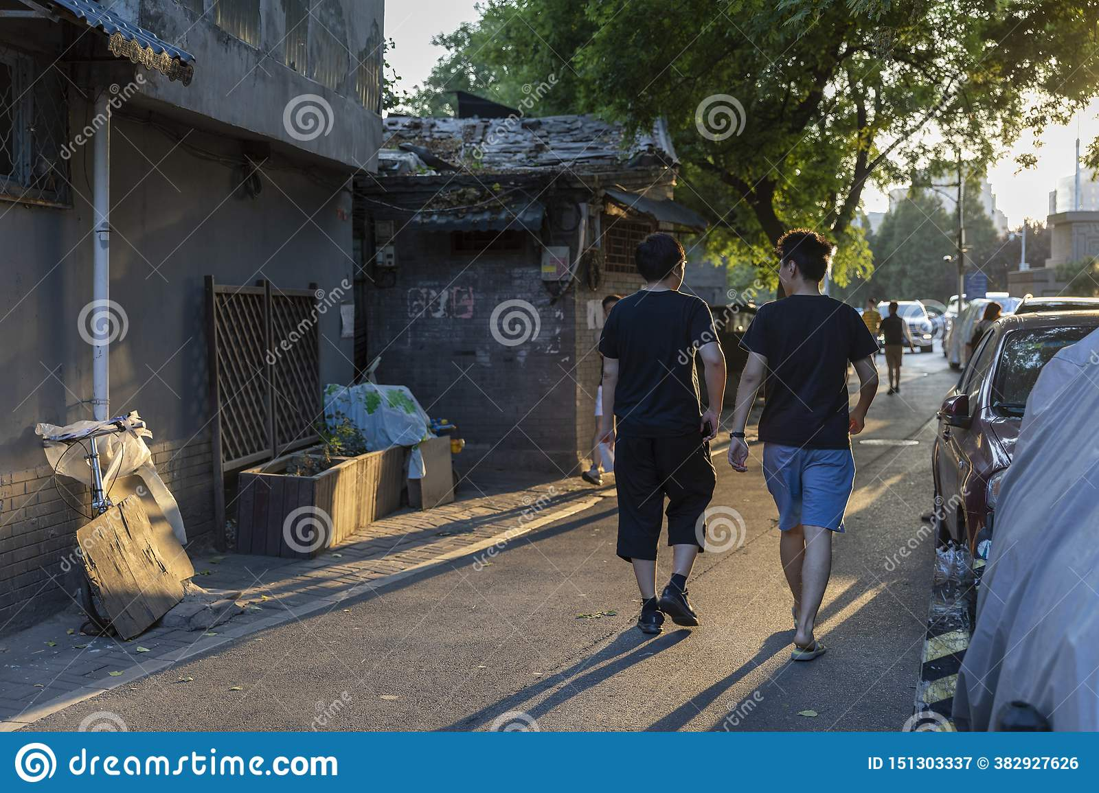 The Wudaoying Hutong in Beijing, China, is one of the commercial hutongs in Beijing.