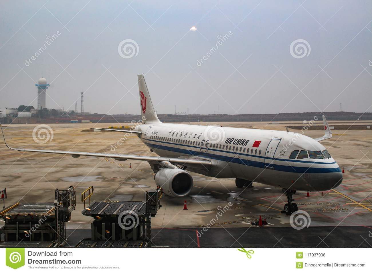 Air China Airbus A320 Neo Sharklets Editorial Stock Photo