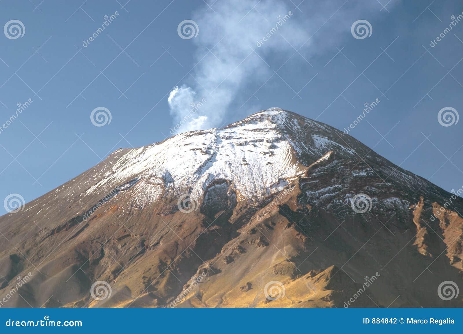 Wulkan popocatepetl